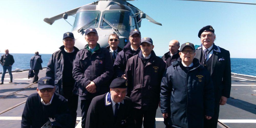 15 Aprile a bordo del Caccia Caio Duilio
